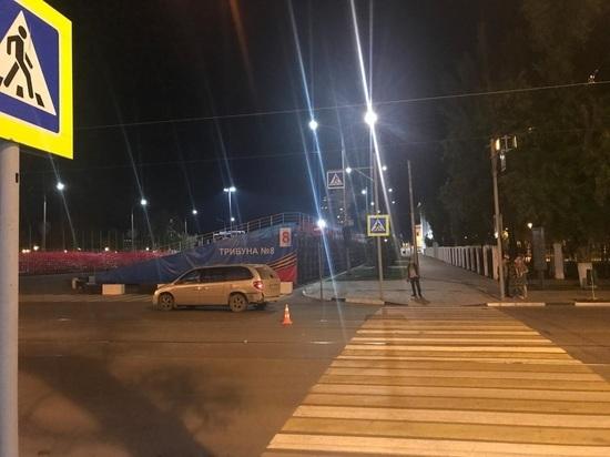 В Самаре иномарка сбила пешехода-нарушителя