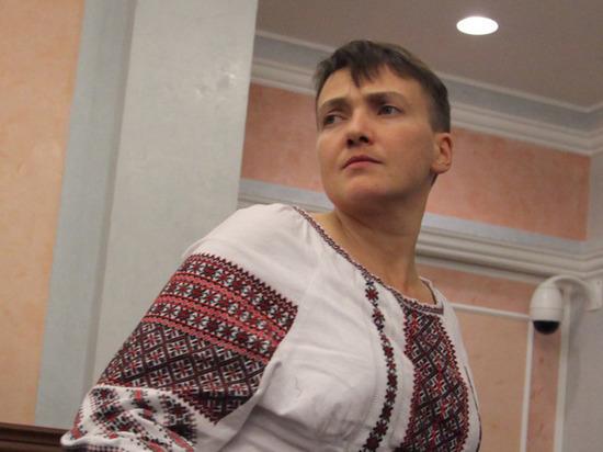 Надежда Савченко просит возить ее по Украине на автозаке