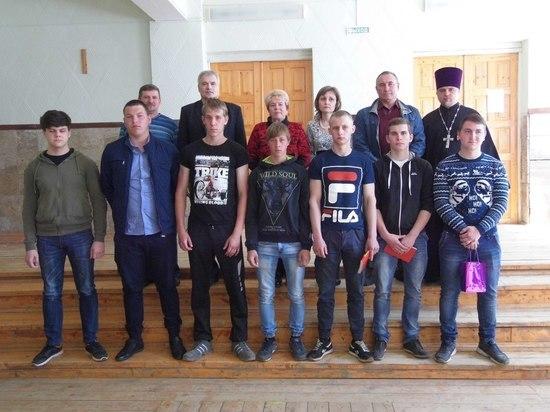 В Кесовогорском районе Тверской области торжественно проводили призывников