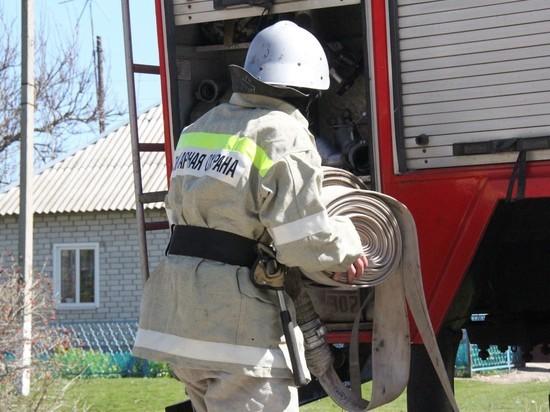 Огнеборцы Ставрополья пять раз выезжали на ликвидацию пожаров