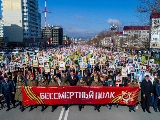 Годовщину Великой Победы отпраздновали на Сахалине