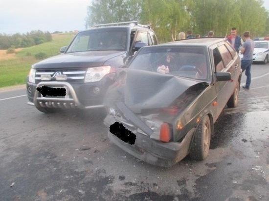 Водители не поделили дорогу под Тулой