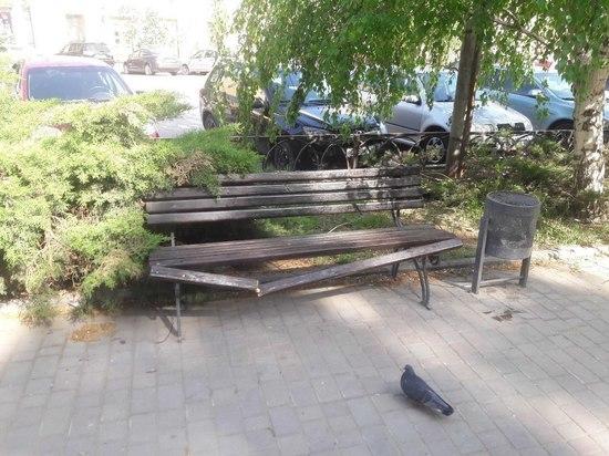 Вандалы атаковали улицу Мира в центре Волгограда