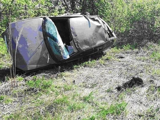 В Самарской области лишенный прав водитель погиб в ДТП