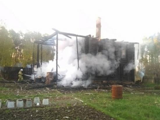 Пожар в Санчурском районе унес жизни четырех человек
