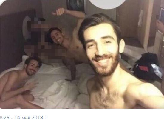 Пятеро турецких тхэквондистов устроили оргию и выложили фото в Интернет