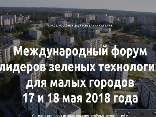 В Костомукше начинает работу Международный форум лидеров зеленых технологий