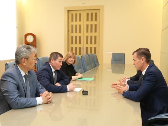Андрей Бочаров встретился с руководством крупного банка