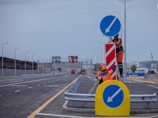 Госдеп обеспокоен: по автомобильной части Крымского моста открыли движение