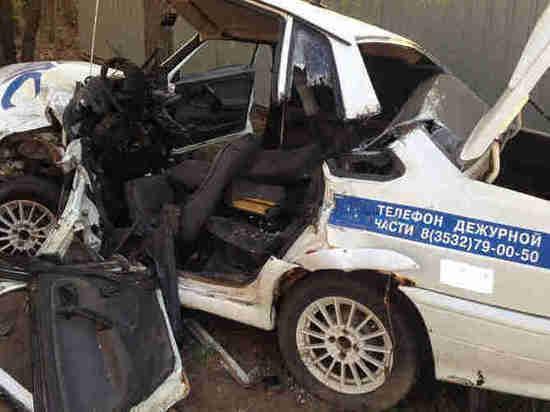 В Оренбурге СК возбудил уголовное дело в отношении виновника аварии с машиной  ДПС
