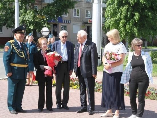 Дочь Маршала Жукова приехала в Калугу