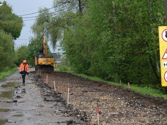 В Оленино стартовал ремонт дорог – 2018