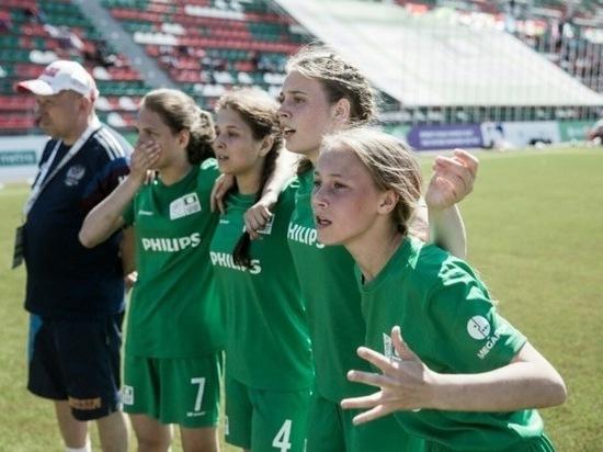 Юные футболистки из Зубцова показали достойную игру на международном уровне