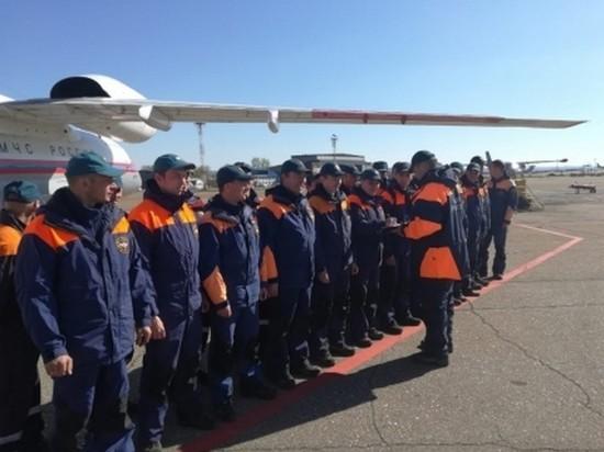 Сотрудники Байкальского поисково-спасательного отряда направлены в Якутию для борьбы с паводком