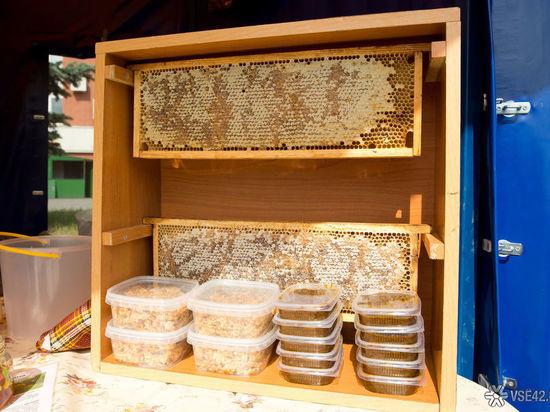 Мед без документов продавали в Кемерове
