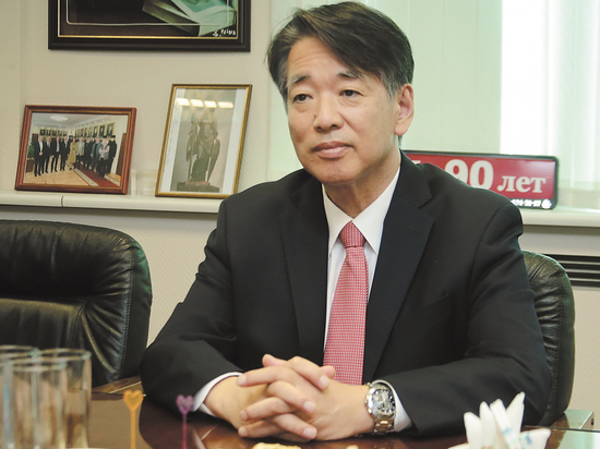 Посол Японии посетил «МК»