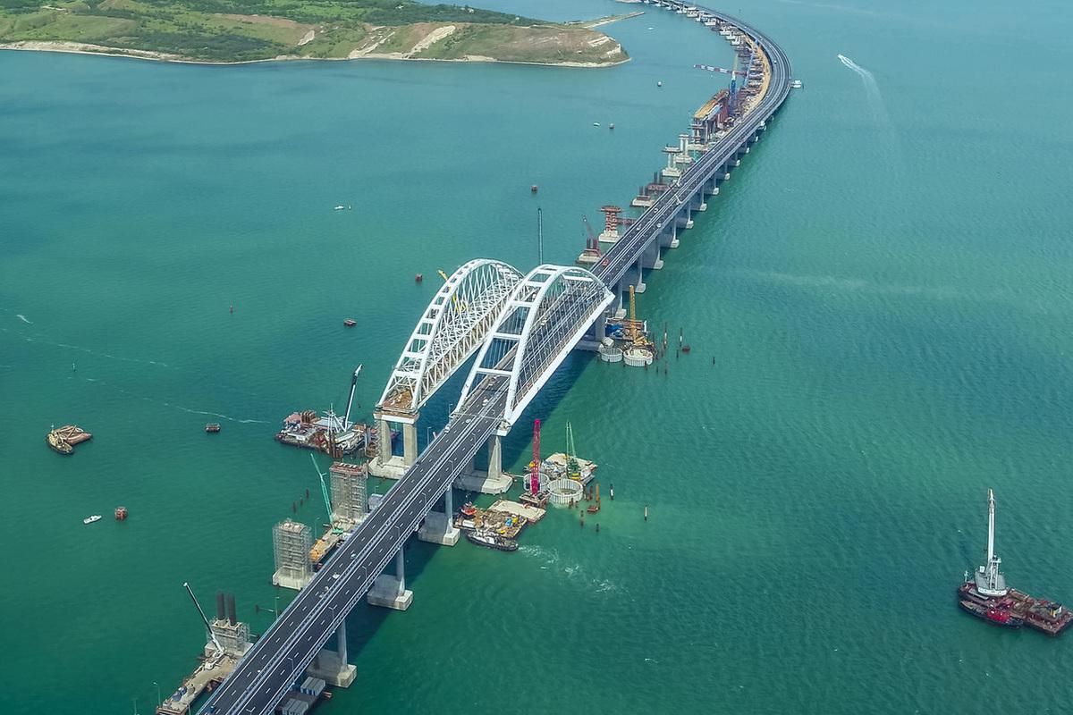они хорошо фото проекта керченского моста неуважительное