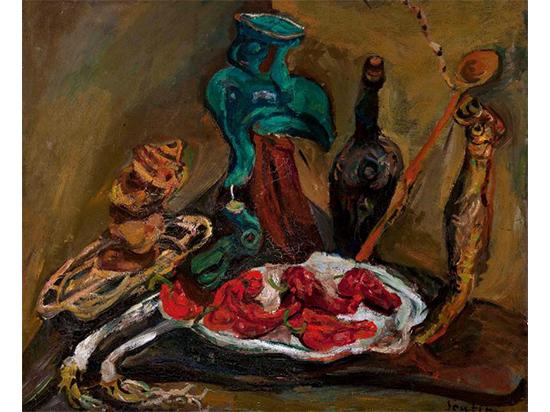 Хаим Сутин в Еврейском музее
