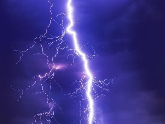 Липчанина убило молнией на улице Свиридова