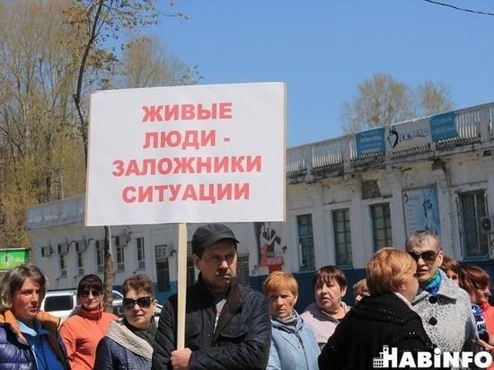 Хабаровских предпринимателей выгнали на улицу