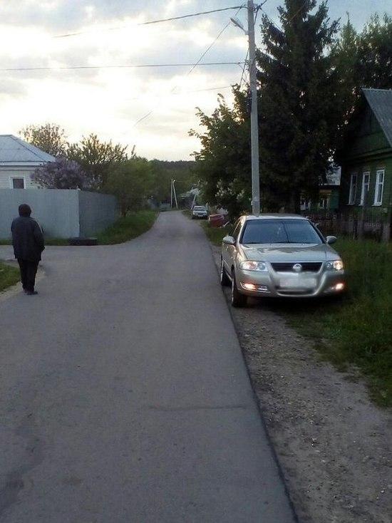 В Рассказово водитель иномарки сбил 6-летнюю девочку на велосипеде