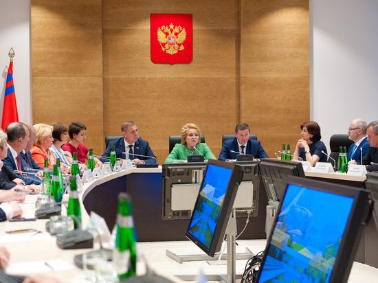 Матвиенко: До октября Волгоградской области надо составить стратегию развития на шесть лет