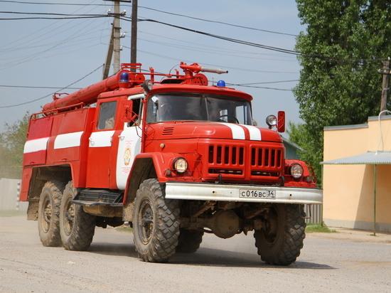 МЧС: «Волгоград в зоне чрезвычайной пожароопасности»