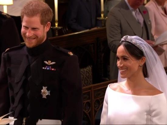 Принц Гарри обвенчался с Меган Маркл на глазах бывшей девушки