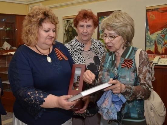 Музей боевой славы посетила дочь дважды Героя СССР Николая Скоморохова