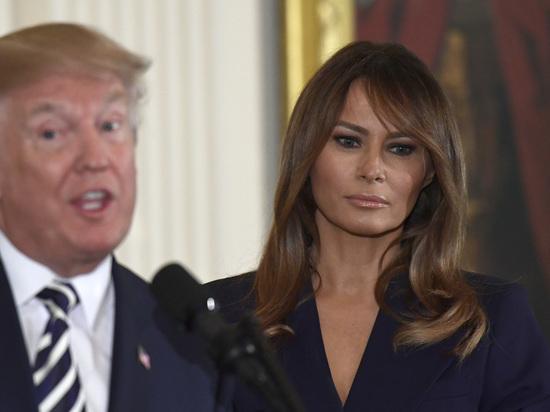 Трамп написал имя своей жены с ошибкой: