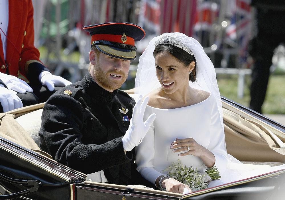 Свадьба принца Гарри и Меган Маркл: блеск знаменитостей