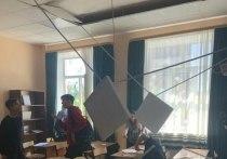 Смету урезали: выяснилась причина обрушения потолка в Ступинской школе