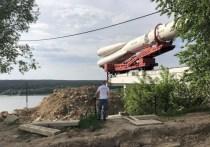 Губернатор распорядился поднять ракету у музея космонавтики в Калуге