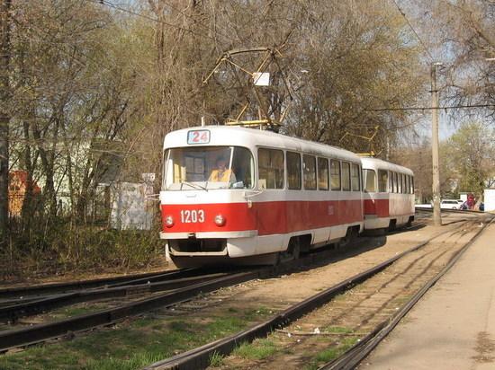 В выходные дни трамваи маршрута №24 в Самаре будут ходить до Металлурга