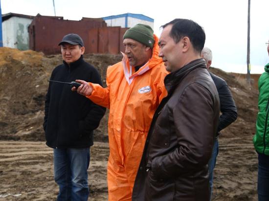 В речном порту Якутска устранили опасность попадания нефтепродуктов в Водозабор