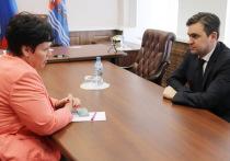Губернатор Станислав Воскресенский провел первый прием жителей региона