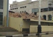 В центре Тамбова незаконно снесли двухэтажное здание