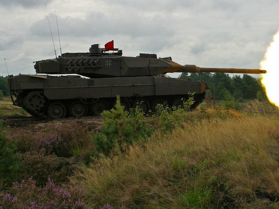 Речь идет о новой боевой машине «Леопард 2» в модификации A7V