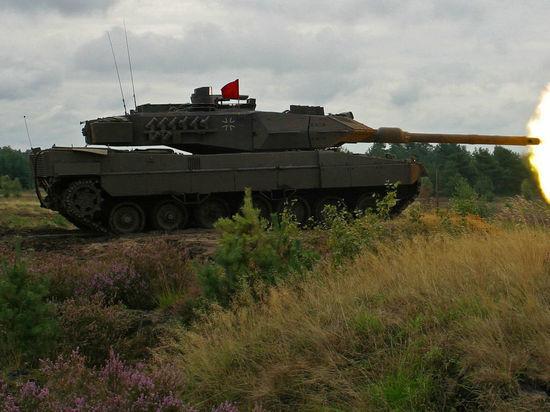 Немецкие генералы хотят строить больше танков, чтобы образумить Россию