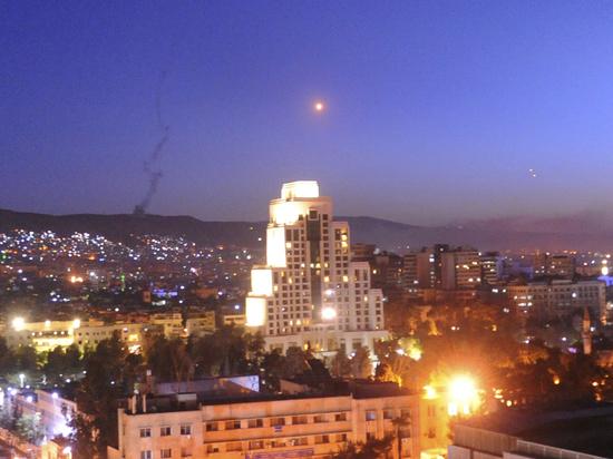 Сирия выпустила сто ракет по самолетам ВВС Израиля