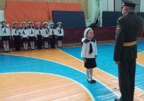 Детсадовцы Ленинского района блеснули строевой подготовкой