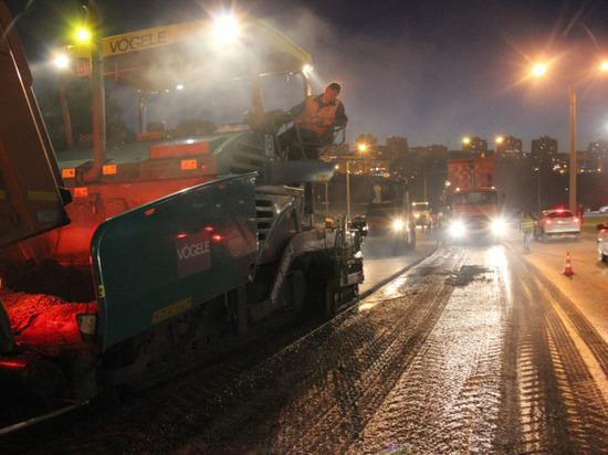 В Чебоксарах оживленные магистрали ремонтируют по ночам