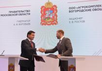 На петербургском форуме губернатор Московской области заключил важные соглашения
