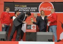 Кубок чемпионата мира по футболу FIFA побывал в Нижнем Новгороде