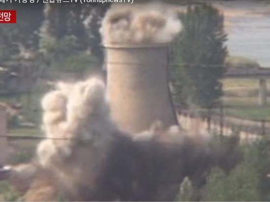 Опубликовано видео взрыва ядерного полигона Пхунгери в КНДР
