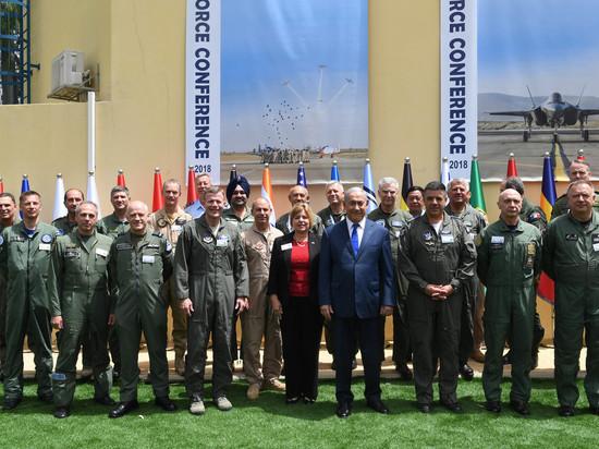 Премьер-министр Биньямин Нетаниягу выступил на Международной конференции командующих ВВС