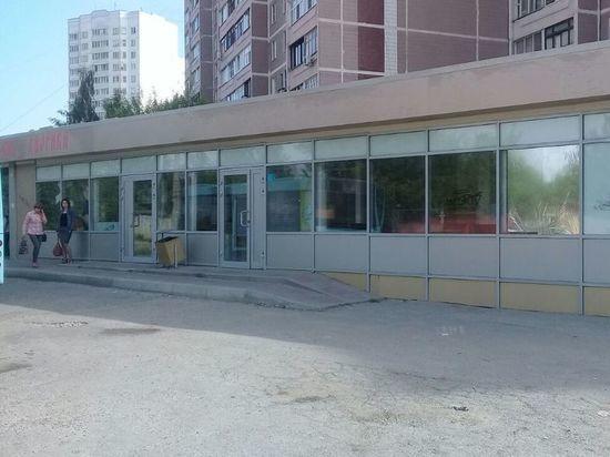 В Ивановских двориках демонтируют торговые павильоны