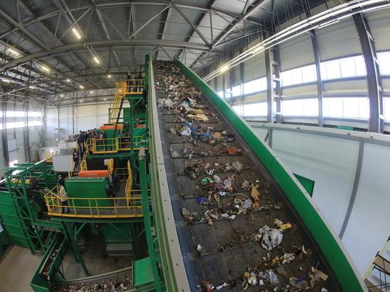 Крупнейший в России мусоросортировочный комплекс заработал в Нижегородской области