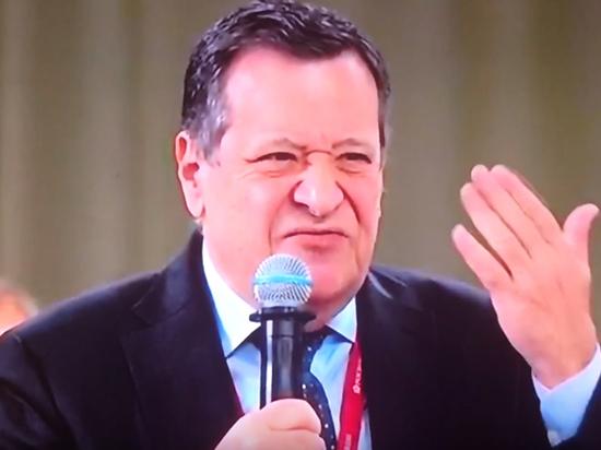 «Система — воровать»: депутат раздраконил правительство на Петербургском форуме