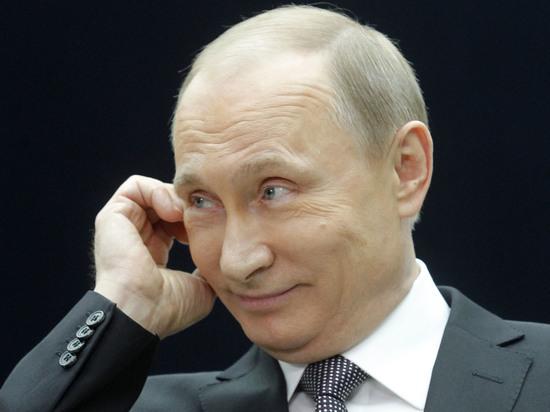 Путин пошутил, что у него